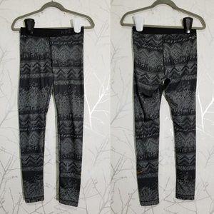 NIKE PRO Black Geometric Print High Rise Leggings